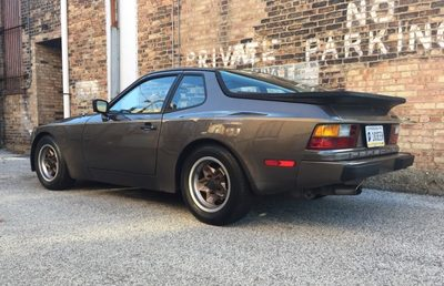 En Route to Uberklasse this was previous owners cool pic.   check out the sales listing from Bring a Trailer:  https://bringatrailer.com/listing/1984-porsche-944-6/